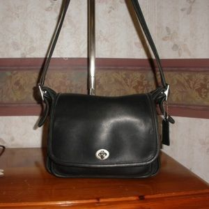 Coach Vintage Rambler's Legacy Black Leather